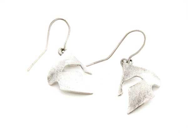 helmet earrings