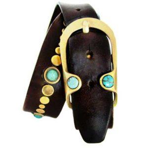 Gemstone belt