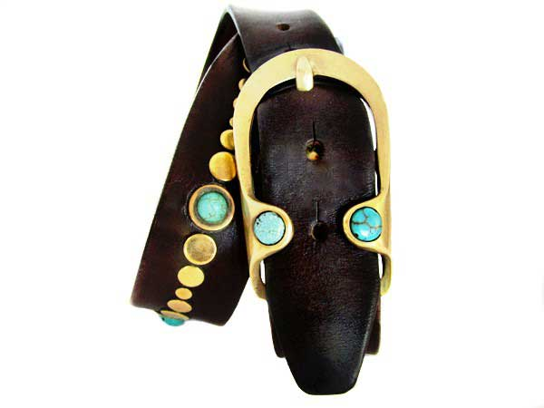 Gemstone belt