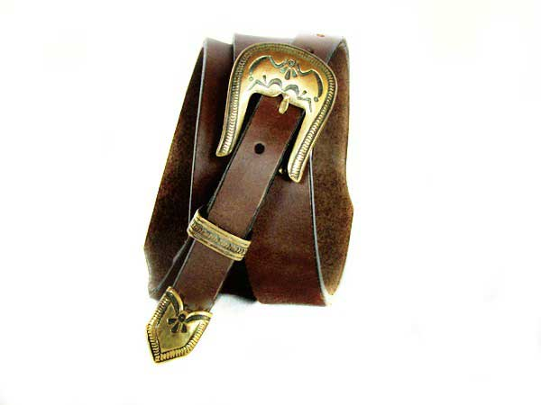 Western Leather Belt