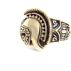 Bronze Helmet Ring
