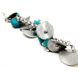Silver Turquoise Earrings