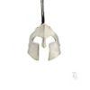 Spartan helmet pendant